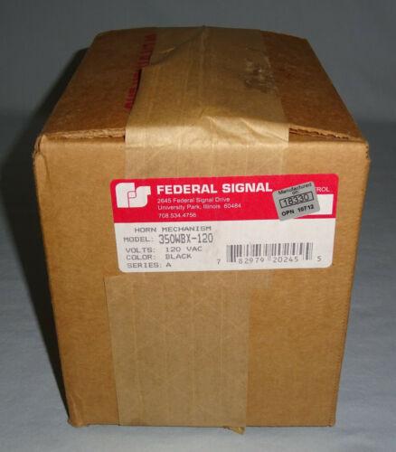 Federal Signal 350WBX-120 Horn 120VAC Hazard NEW
