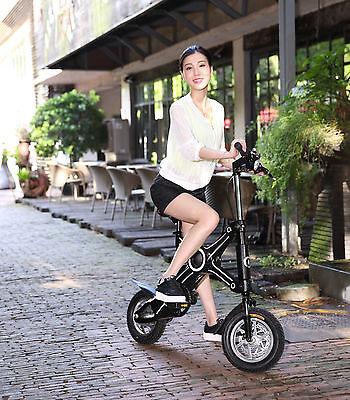 x-ebike iBike MINIFOLD MiniPed PIEGHEVOLE e-roller elettrico due ruote scooter