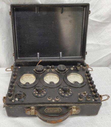 Vintage - Weston - Model 547, Tube Tester -Un-Tested -READ