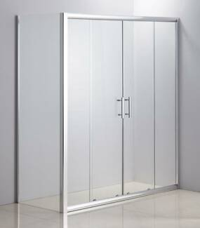 1700 X 700 Sliding Door Safety Glass Shower Screen By Della Franc