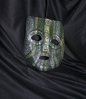 Loki latex mask Jim Carrey Costume Fancy Dress Halloween film 'The mask' Green](The Mask Halloween Costume Jim Carrey)