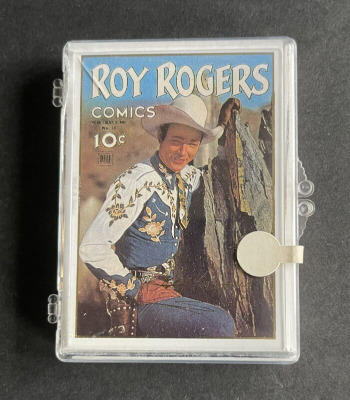 Set of 2 Roy Rogers Trading Cards Gold Signature Series and Gold Signature Set