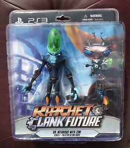PS3 Ratchet and Clank Dr. Nefarious with Zoni Collector Figures