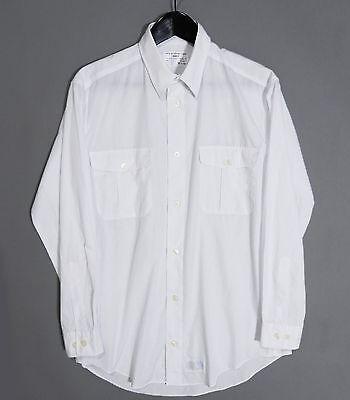 Rare CJRC Yohji Yamamoto Classic White Shirt 2007/03 Side Pleats Broadcloth b