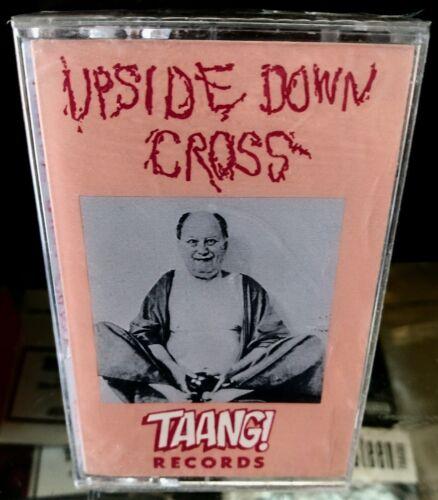 UPSIDEDOWN CROSS s/t CASSETTE on Taang! KILSLUG SICKNESS MELVINS SLUDGE