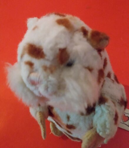 """Cookie"" the Cute Plush Spotted Hamster"