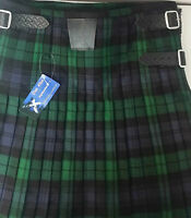 Black Watch 8 Yard Kilt Only Ex Hire £99 A1 Condition Large Stock But Hurry -  - ebay.co.uk