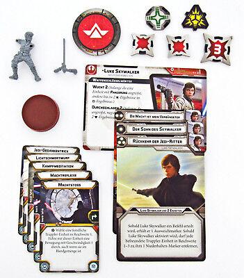 Luke Skywalker inkl. Zubehör | Star Wars Legion Grundspiel