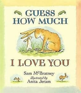 Guess How Much I Love You by Sam McBratney, Book, New Paperback