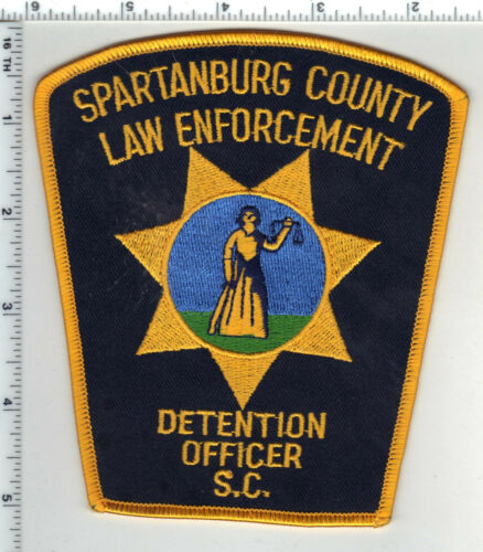Spartanburg County Detention Officer (South Carolina) 1st Issue Shoulder Patch