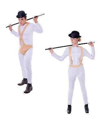 #Clockwork Orange Alex Droogs Gang Costumes Halloween Party Fancy - Droog Costume