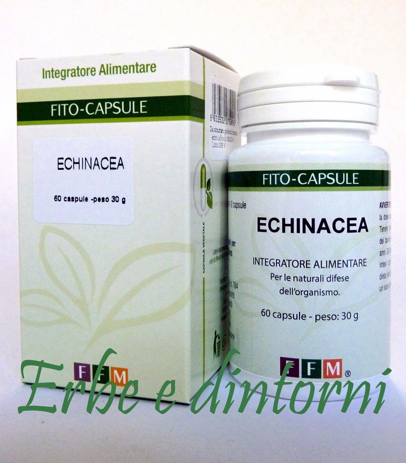 ECHINACEA ESTRATTO SECCO TITOLATO 60 CAPSULE - Difese immunitarie