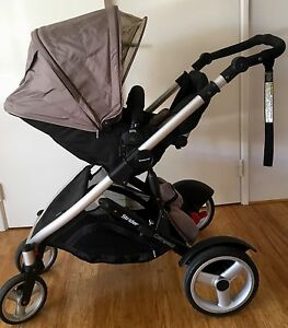Steelcraft Strider Compact Pram (shell colour) Sinagra Wanneroo Area Preview