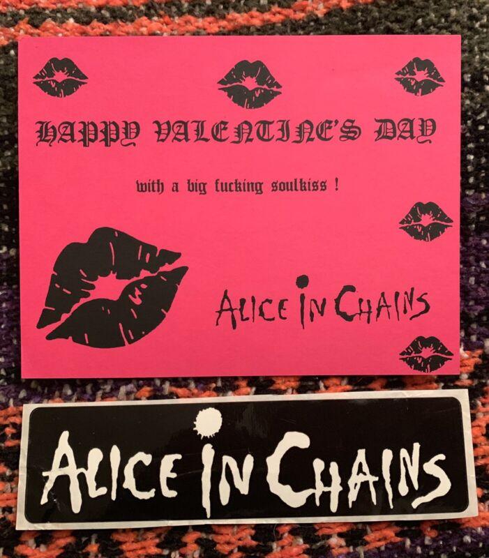 Alice In Chains Fan Club Layne Staley Pearl Jam Mother Love Bone Soundgarden
