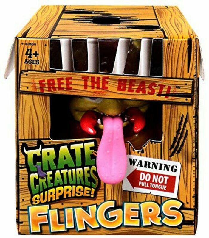 Crate+Creatures+Surprise+FLINGERS+Figure+-+FLEA%E2%84%A2+%28Series+1%29