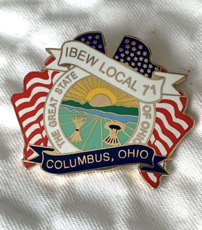 IBEW 71 pin
