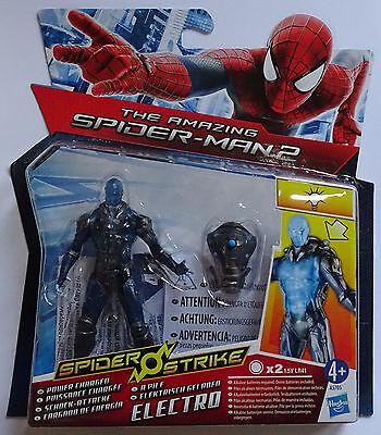 HASBRO® A5705 The Amazing Spider-Man 2 Schock-Attacke Electro Figur 10cm