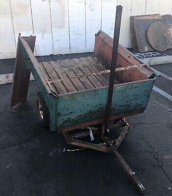 Vintage Cushman Utility Dump Trailer