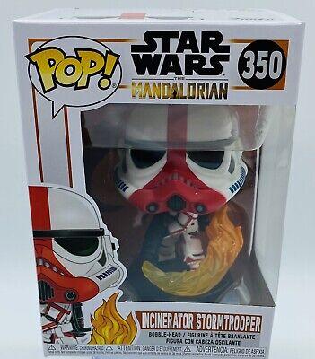 Funko Pop Star Wars: The Mandalorian - Incinerator Stormtrooper Bobblehead #350