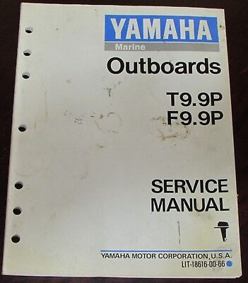 Yamaha Outboards Service Manual for T9.9P F9.9P