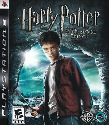 Harry Potter and the Half-Blood Prince (Sony PlayStation 3, PS3, 2009) (Harry Potter And The Half Blood Prince Ps3)