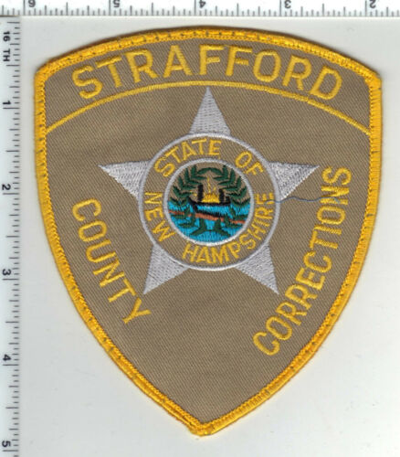Strafford Police (New Hampshire) Uniform Take-Off Shoulder Patch from the 1980