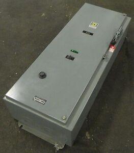 Square D Combination Starter Class 8538 Type Seg35 100 A