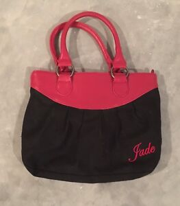 Red and black Bag - $5