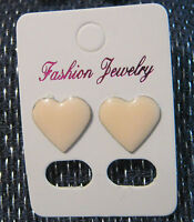 Very Pretty Earrings With Pink Heart Studs - unbranded - ebay.co.uk