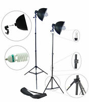 Dynasun S27kit 1000w Illuminatore Studio Con Lampada Daylight Stativo Riflettore -  - ebay.it