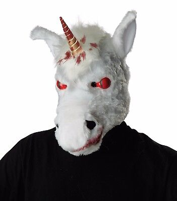 Motion Mask (Adult Evil Unicorn Ani-Motion Costume Mask)