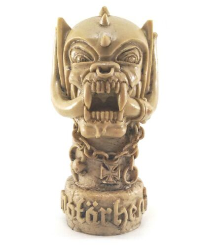 Motorhead Beast Art bust Sculture Figurine Figure Resin Lemmy Stone style