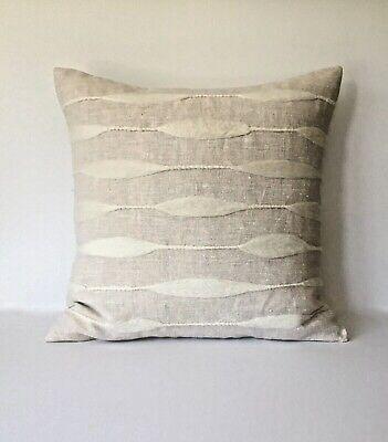 - Decorative Pillow Cover - Textured Accent Pillow - Light Beige 20