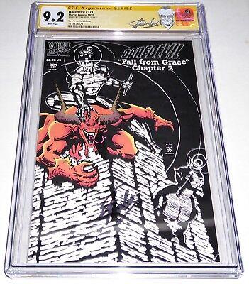 Daredevil #321 CGC SS Signature Autograph STAN LEE Glow in the Dark Edition SICK