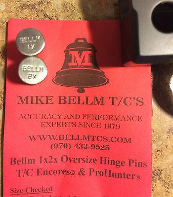 Bellm 1X2x Oversized Hinge Pin Pack For Tc Encore Pro Hunter Endeavor