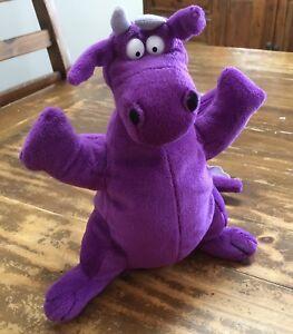 Seretide Asthma Purple Dragon Hand Puppet