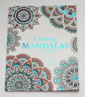 Creating MANDALAS Adult Coloring Book New - Mandalas Coloring