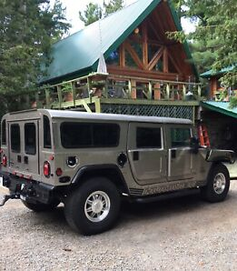 2001 AM General Hummer H1, Diesel, ONLY 21,948 KM!
