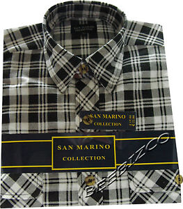 Mens Flennel Lumberjack Check Brushed Cotton Work Shirt M - XXL