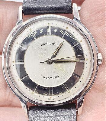 Serviced Prestine Hamilton Thin-o-matic Micro Rotor 17j Swiss Steel Watch in box