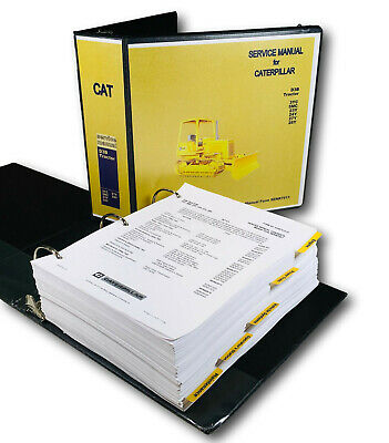 Cat Caterpillar D3b 3yc 5mc 23y Crawler Tractor Dozer Service Repair Shop Manual