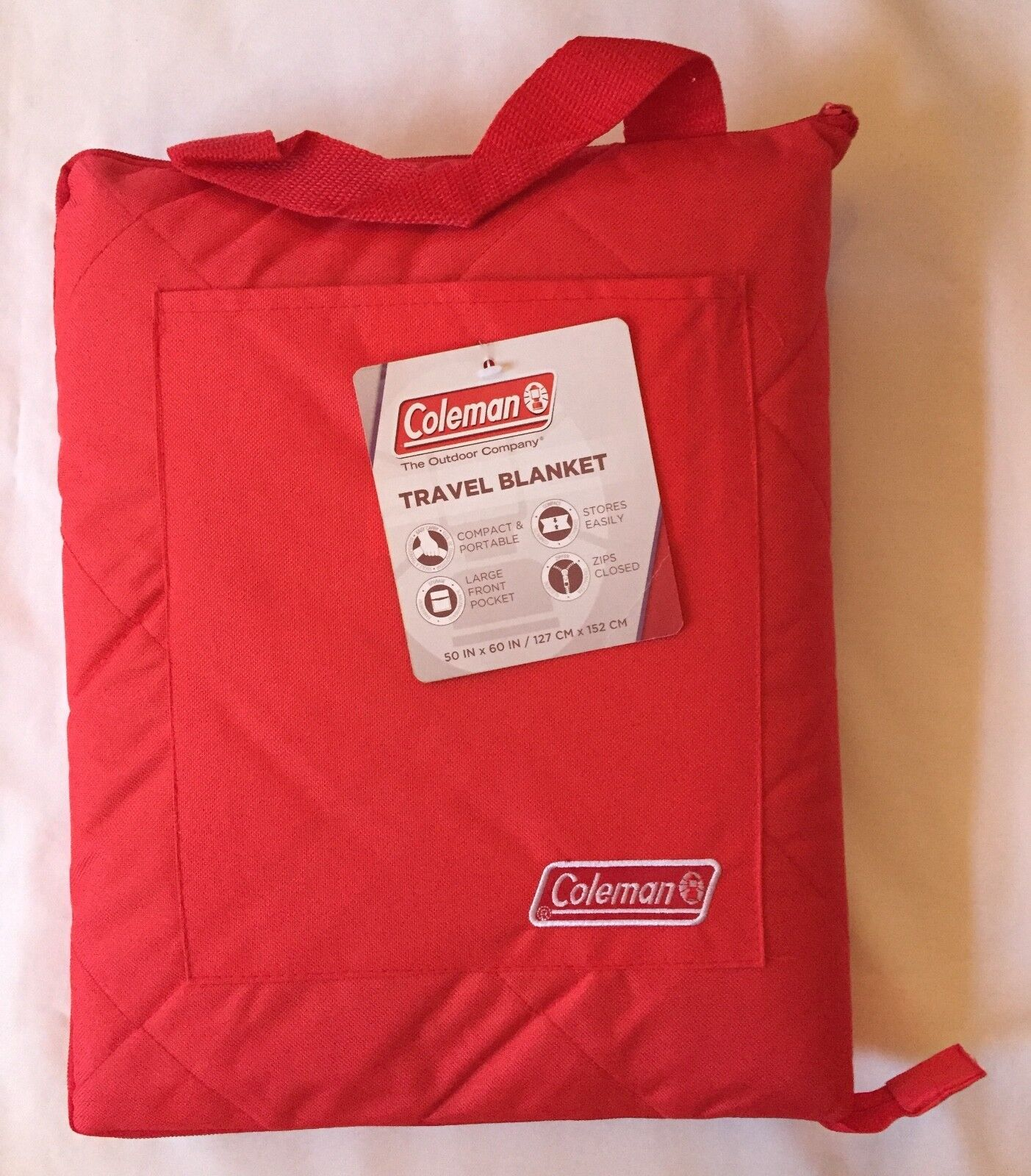 Coleman Travel Great Outdoors Picnic Blanket Camp Hike Sport