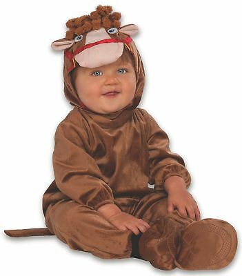 Little Horsey Brown Horse Animal Fancy Dress Up Halloween Toddler Child Costume](Horsey Halloween Costumes)