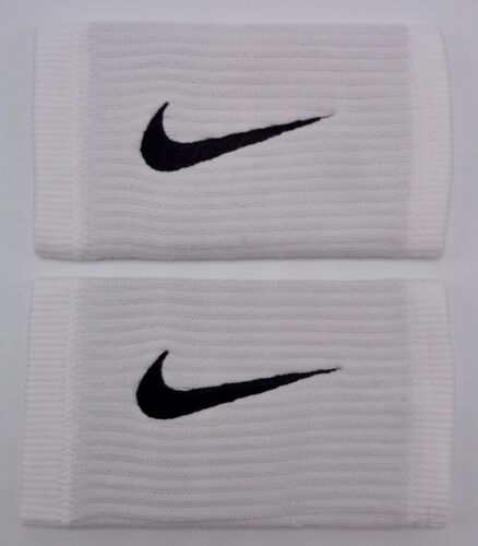 Nike Reveal DW Doublewide Wristbands White/Cool Grey/Black