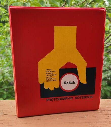 Kodak Photographic Notebook 1968 - 1975 Service Pamphlets and PhotoNews + more