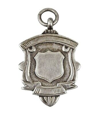 Vintage Clayton Football Charity Cup 1940's Hallmarked Silver Fob Medal