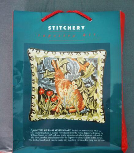Stitchery Tapestry Needlepoint Kit William Morris Hare NEW England