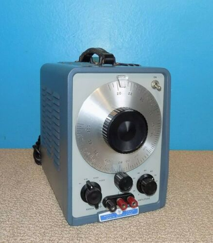 HP Hewlett Packard Model 200AB Audio Oscillator Great Condition Free Shipping