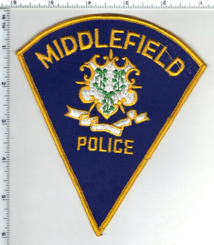 Middlefield Police (Connecticut) Shoulder Patch - new from the 1980