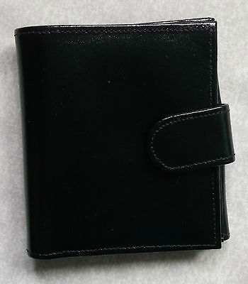 Wallet Leather NEW HANDMADE ENGLAND 1980s CARDS NOTES COIN POCKET